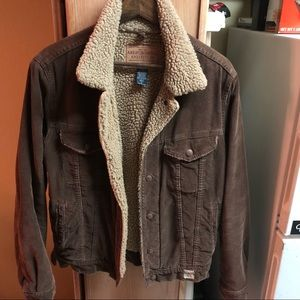 Abercrombie & Fitch Vintage Corduroy Jacket Small